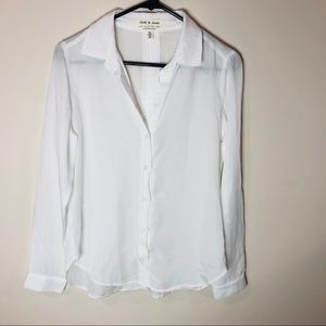 CLOTH AND STONE Classic Button Down Anthropologie